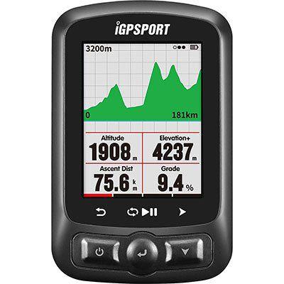 iGPSPORT iGS618   Fahrradcomputer mit GPS, GLONASS & mehr für 86,20€