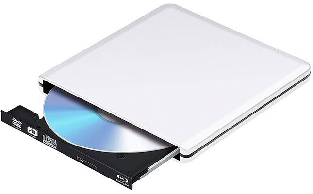 Externer Blu Ray Player (3D) & DVD/CD Brenner für 45,59€ (statt 76€)