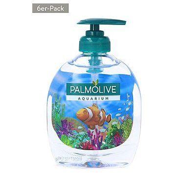 6x300 ml PALMOLIVE Flüssigseife Aquarium für 8,99€