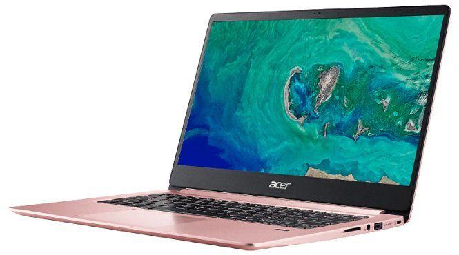 ACER Swift 1 Notebook mit 14, Silver N5000, 4GB RAM, 64GB eMMC in versch. Farben für 379€ (statt 451€)