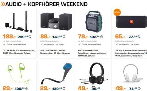 Saturn Weekend Sale: günstige BEATS & Co. Kopfhörer, Haushalts u. Fitness Artikel