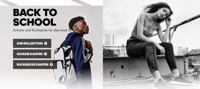 Adidas Back to Sport Sale mit 20% extra Rabatt ab 2 Artikeln