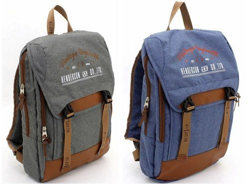 F23 Backpack mit 14 Zoll Laptopfach in blau oder grau für 22,99€ (statt 42€)