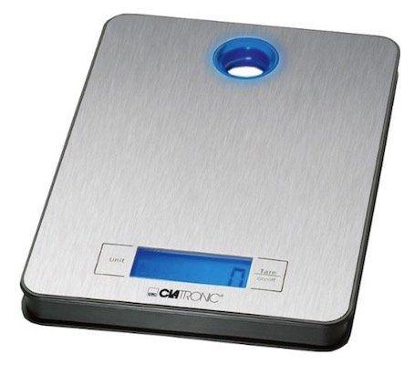 Clatronic KW 3412 Küchenwaage bis max. 5kg für 9,99€ (statt 15€)