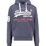 """Superdry Herren Sweatshirt """"Store Tri Hood"""" mit Kapuze für 48,86€(statt 80€)"""