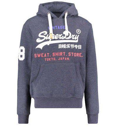 Superdry Herren Sweatshirt Store Tri Hood mit Kapuze für 48,86€(statt 80€)
