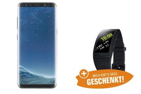 Samsung Galaxy S8 + Samsung Gear Fit 2 Pro Watch für 499€ (Wert 575€)