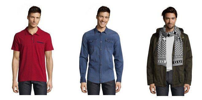 Guess Sale für Damen und Herren bei vente privee   z.B. Guess Herren Freizeithemd für 35,90€ (statt 80€)
