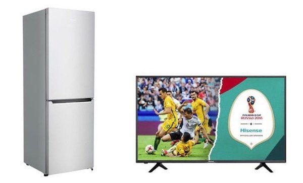 Letzter Tag! 10% Rabatt auf Hisense TVs und Haushaltsgeräte bei eBay