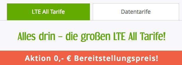 TOP! winSIM LTE FLEX Tarife reduziert ab 4,99€ mtl. + keine Anschlussgebühr   jederzeit kündbar!
