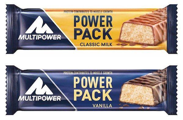 24er Pack Multipower Power Pack Proteinriegel für 15,40€   MHD Ware!