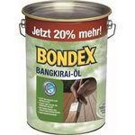 Bondex Bangkirai Holzschutz Öl 4,8 Liter für 34,95€(statt 43€)