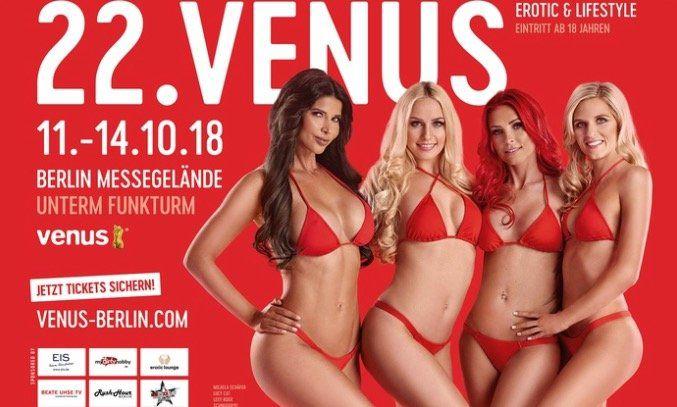 Tagesticket für die Venus Messe in Berlin ab 14,40€ (statt 38€)