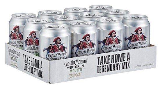 12er Pack Captain Morgan White Rum Mojito Dosen je 0,33 Liter für 15,36€ (statt 29€)   nur für Primer!