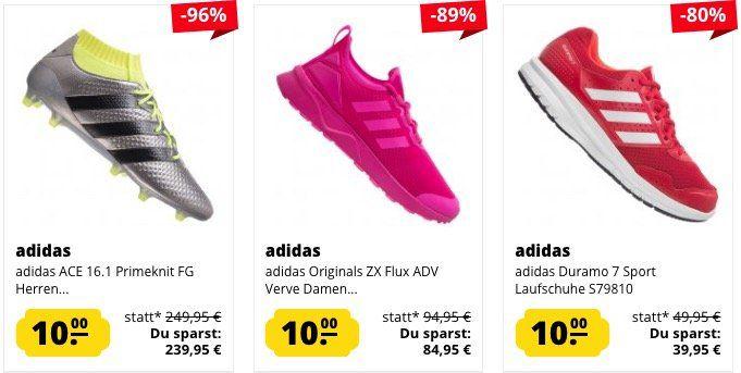 10% auf alles bei Sportspar – z.B. Adidas ZX Flux ADV