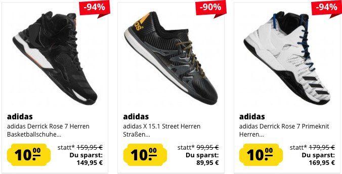 Schuh Knaller: ausgewählte Schuhe nur 10€ bei SportSpar (zzgl. VSK)   nur wenige Größen!