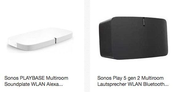 Gute Sonos Deals im Medimax Outlet auf eBay dank 10% Gutschein