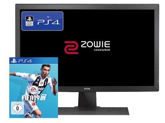 BenQ Zowie RL2455   24 Zoll Full HD Monitor für 169,99€ + gratis Fifa 19 (PS4)