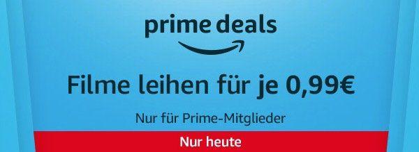 Amazon Prime Deals: 10 Filme für je 0,99€ in HD ausleihen