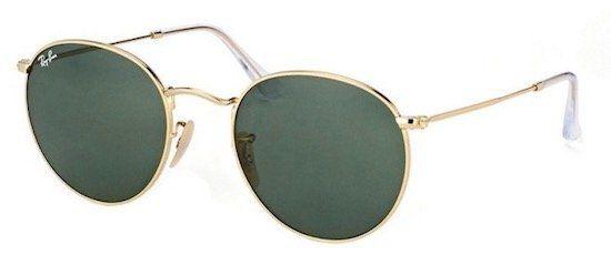 Ray Ban Round RB3447 Sonnenbrille in Größe XS für 39,99€ (statt 70€)