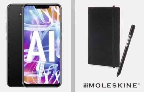 Huawei Mate 20 Lite + Huawei Moleskine Smart Writing Set für 4,95€ + Vodafone Allnet Flat mit 5GB *Highspeed* für 24,99€ mtl.