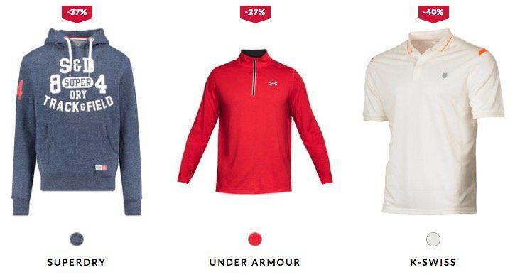 engelhorn Sport Mid Season Sale + 15% Extra Rabatt   z.B. Superdry Store Tri Hood Hoodie für 42,41€ (statt 80€)