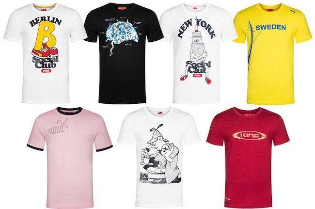 Puma Sommer T Shirts für je 11,99€