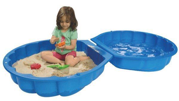 Big Sand  und Wassermuschel in Blau ab 14€ (statt 19€)