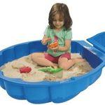 Big Sand- und Wassermuschel in Blau für 13,99€ (statt 19€)