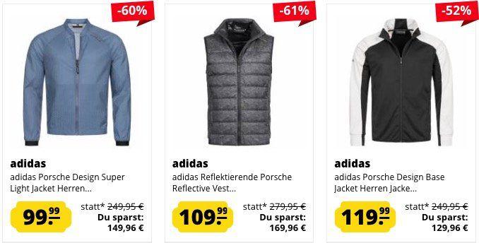 adidas Porsche Design Westen und Jacken ab 99,99€