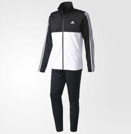 adidas Herren Back 2 Basics 3 Streifen Trainingsanzug für 32,47€ (statt 44€)