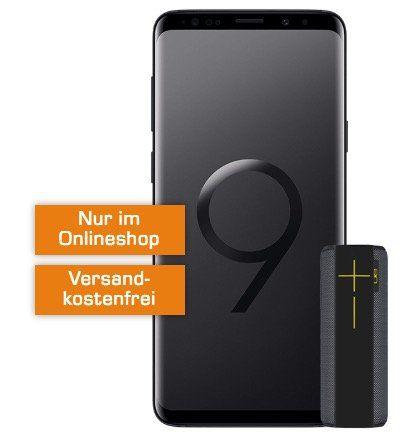 Samsung Galaxy S9 + UE Megaboom für 49€ + Telekom Allnet Flat mit 1GB für 19,99€ mtl.