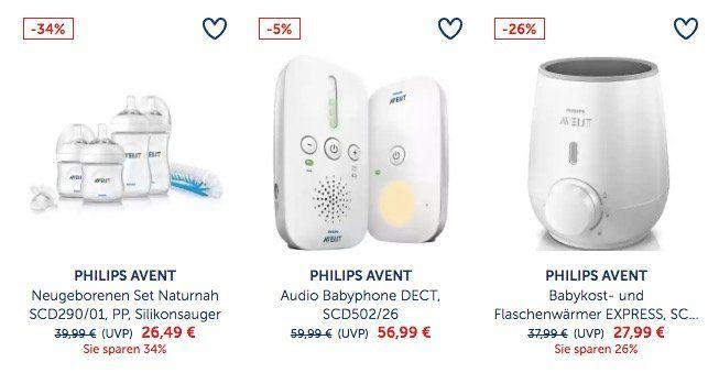 20% Rabatt auf Philips Avent Artikel bei myToys