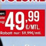 Knaller! Vodafone Red XL Unlimited für 59,99€ mtl. – mit GigaKombi nur 49,99€ mtl.