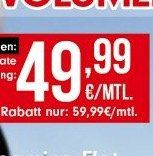 Knaller! Vodafone Red XL Unlimited für 59,99€ mtl.   mit GigaKombi nur 49,99€ mtl.