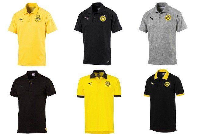 Puma BVB Poloshirts für Herren und Kinder für je 14,95€