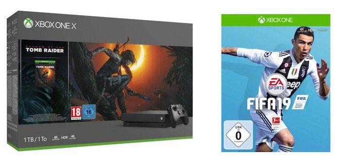 Xbox One X 1TB Shadow of the Tomb Raider Bundle für 435,94€ (statt 494€)
