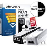 devolo dLAN 500 AV Wireless+ Starter Kit (Powerline, 2x Adapter) Black & White für 69,90€ (statt 99€)