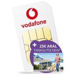 Vodafone Smart XL mit 11GB LTE für 19,99€ mtl. + gratis 25€ ARAL Supercard