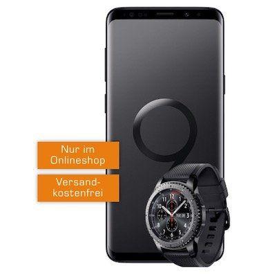Samsung Galaxy S9+ inkl. Gear S3 frontier 49€ + Vodafone Flat 2GB für 27€ mtl.