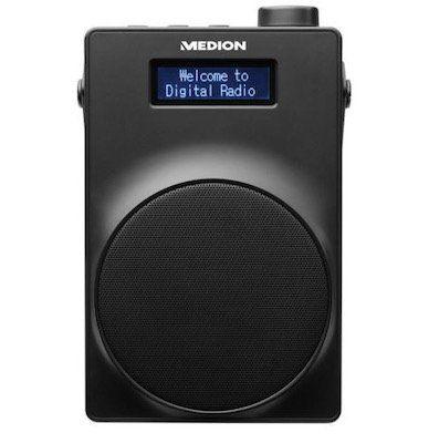 Medion LIFE E66880 (MD 48080) UKW DAB+ Radio in Schwarz für 26,99€ (statt 40€)