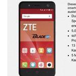 ZTE Blade V8 Mini für 19,95€ + o2 mit 50 Min / SMS + 1GB LTE für 3,99€ mtl.