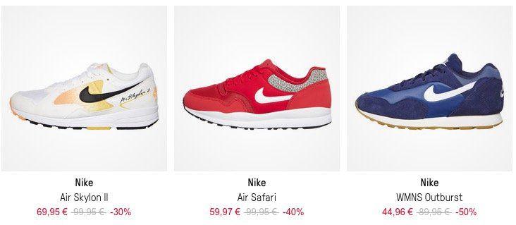 Knaller! Großer HHV Sneaker Sale mit bis zu  50% + oben drauf weitere 30% dank Gutschein   z.B. Nike Air Safari in Rot für 45,97€ (statt 82€)
