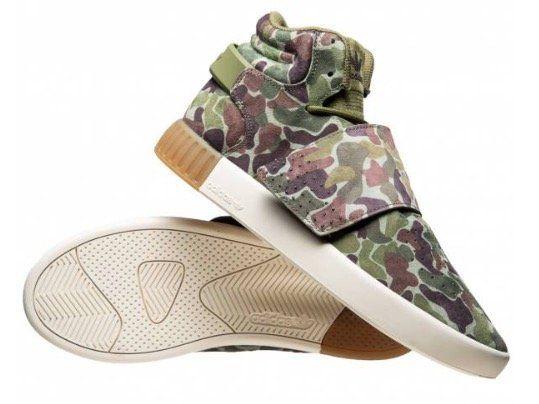 adidas Originals Tubular Invader STR Strap Herren Sneaker in Camouflage für 26,17€ (statt 45€)