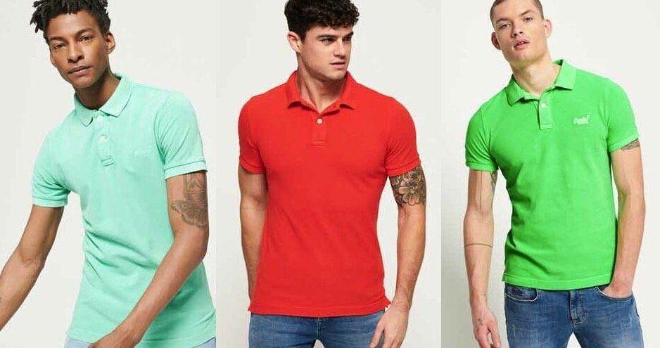 Superdry Herren Poloshirts   17 Modelle bis XXXL für je 19,95€