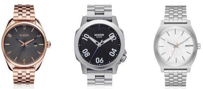 Nixon Uhren Sale bei Veepee   z.B. Nixon The Time Teller (A045) für 39,99€ (statt 75€)