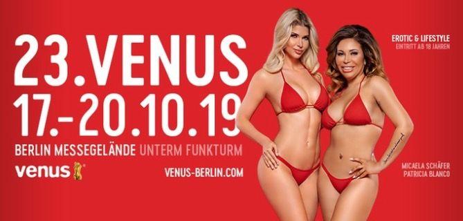 Tagesticket für die Venus Messe in Berlin ab 15,20€ (statt 38€)