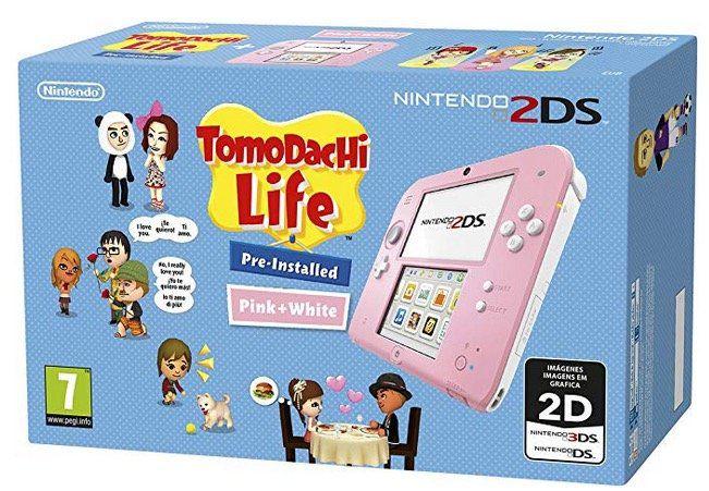 Nintendo 2DS Konsole + Tomodachi Life für 71,23€ (statt 92€)