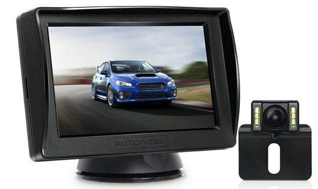 AUTO VOX M1Pro   Rückfahrkamera inkl. Monitor für 44,09€ (statt 63€)