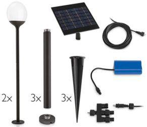 Philips myGarden Blossom   2er Pack LED Solar Leuchten mit separatem Panel für 39,90€ (statt 45€)